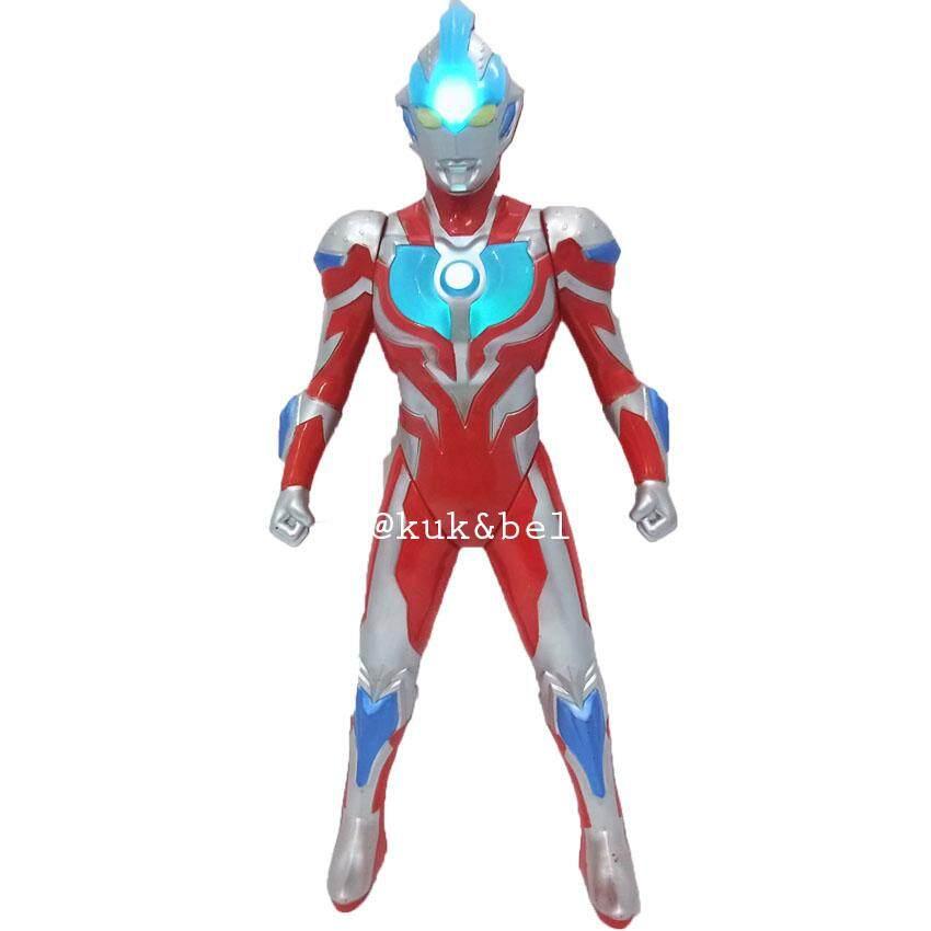 Patipan Toy ของเล่น หุ่น หุ่นอุนตราแมน มีเสียง มีไฟ 8238a.