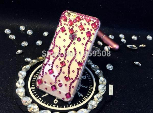 Dành cho Xiaomi Redmi Case Tay Đá Vân Ốp Lưng Pha Lê Kim Cương dương đào Bao Hoa Da Báo Ốp lưng Điện Thoại