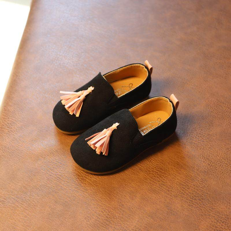 Baby Princess Shoes Girls Soft Bottom Shoes Moccosins 1-3 Years Old 2 Children's Shoes