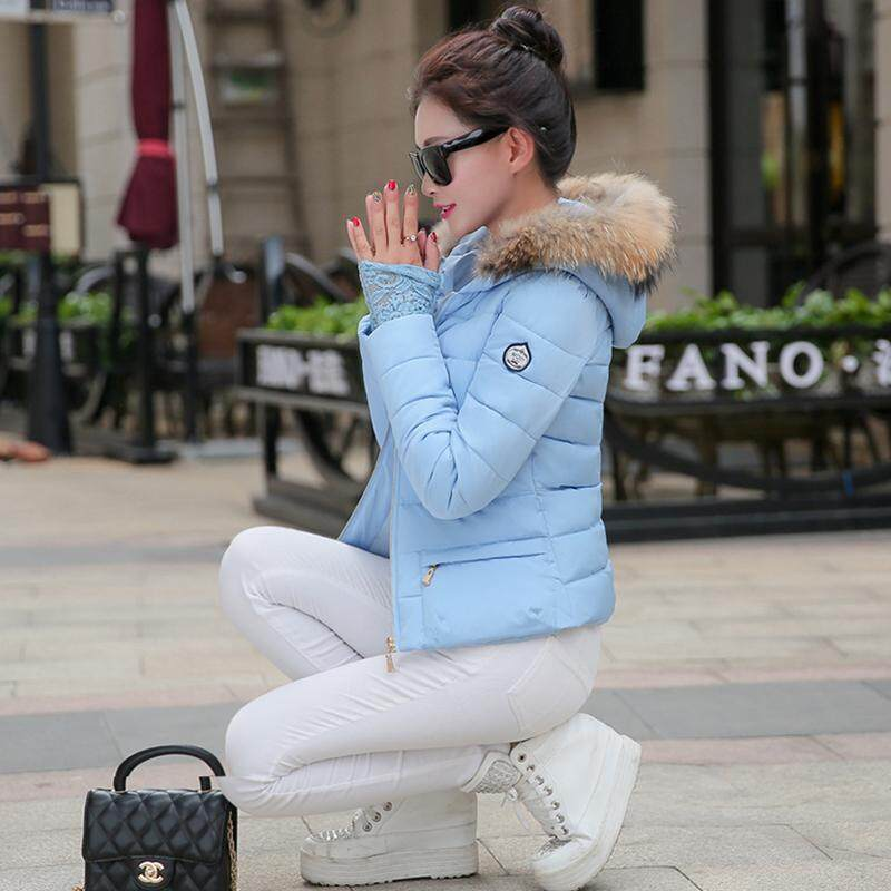 ... 2018 pakaian musim dingin model baru baju katun pakaian katun jaket  wanita membentuk tubuh model pendek ... 55efdbda77
