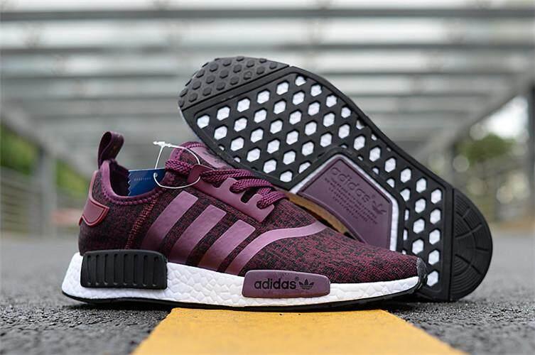 Adidas Asli NMD R1 Wanita Sneakers Sepatu Lari EU 36-44 9be096a318
