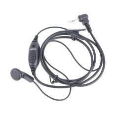 HAMTEC ไมค์พร้อมหูฟัง วิทยุสื่อสาร รุ่น HT-R172 สีดำ