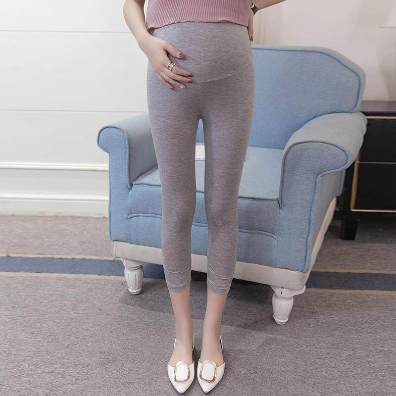 0a29634de3a256 Leggings for Pregnant Woman Spring And Autumn Outer Wear Pants Summer 2019  New Style Fashion Mom
