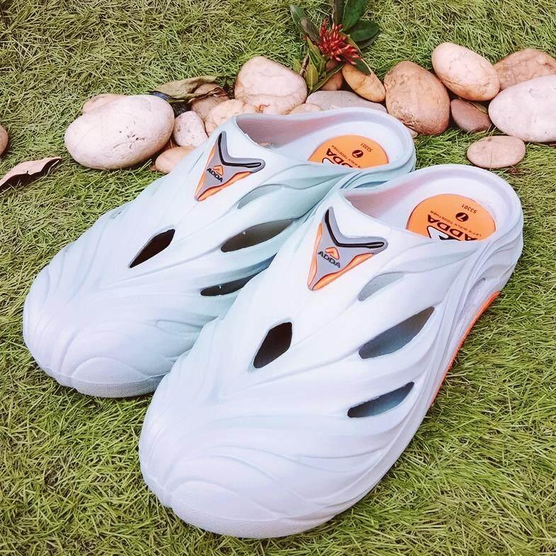 ขาย รองเท้าหัวโต ผู้ชาย รองเท้าแตะ ปิดหัว ผู้ชาย รองเท้าปิดหัว ผู้ชาย รองเท้า Adda รุ่น 53301 M1 ราคาถูกที่สุด
