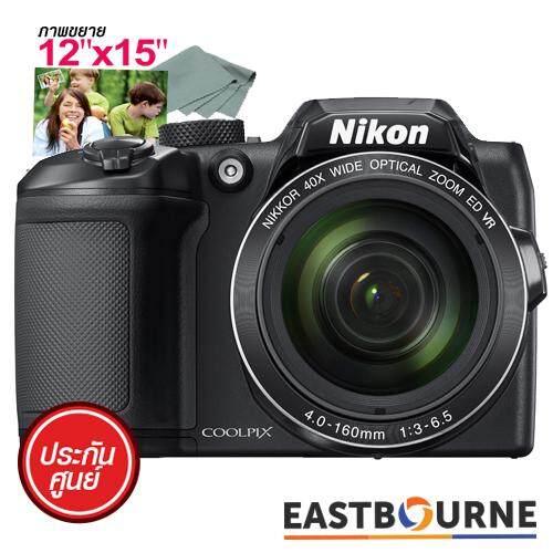 "Nikon COOLPIX B500 (Black) + คูปองขยายภาพขนาด12""x15"" มูลค่า175บาท + ผ้าเช็ดเลนส์ มูลค่า100บาท"