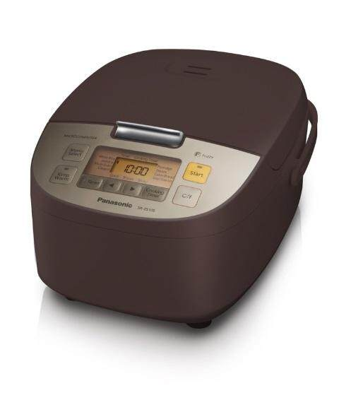 Panasonic หม้อหุงข้าวไมคอม 1.0 L รุ่น Sr-Zs105 Tsn น้ำตาลแดง.