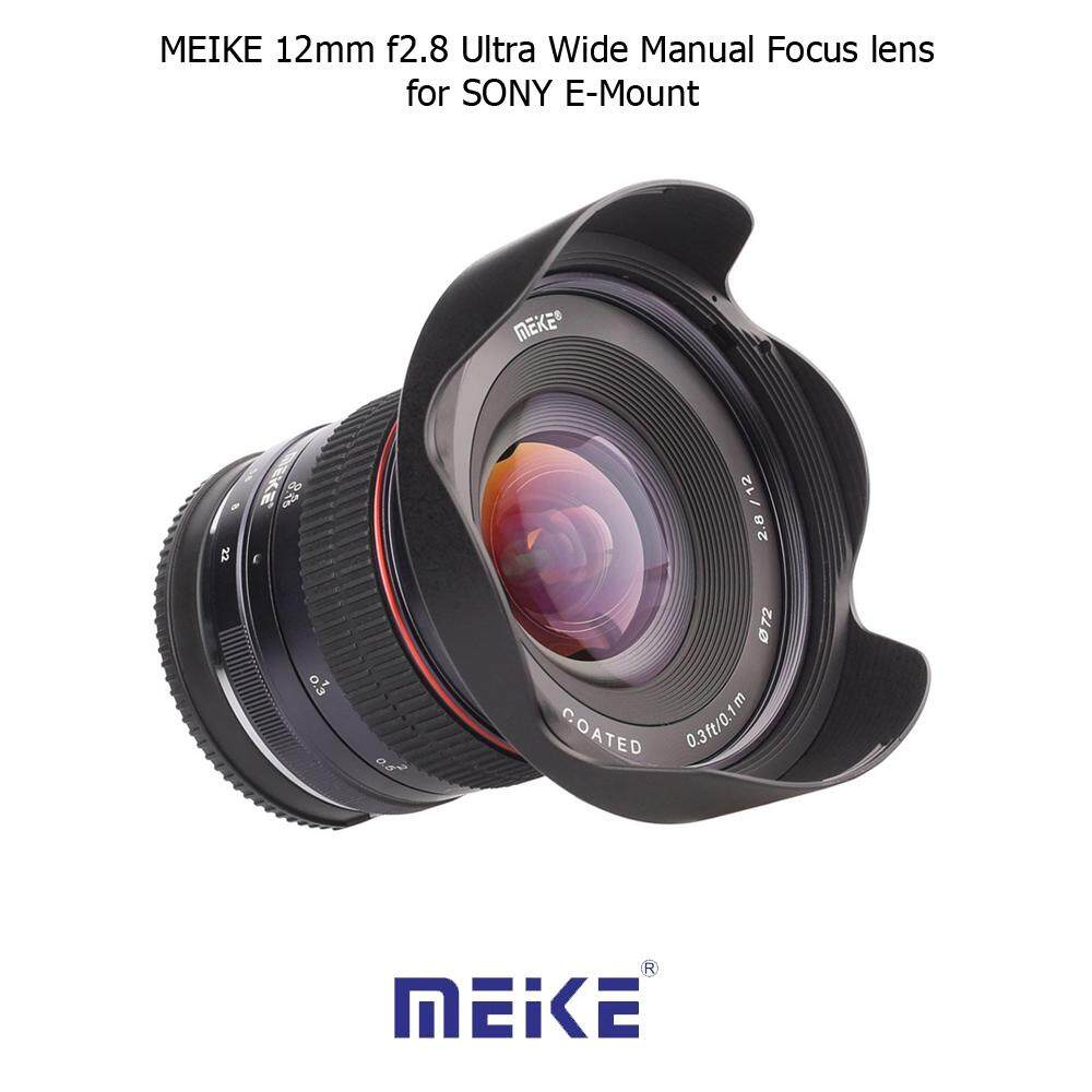 Meike Mk 50mm F20 Manual Focus Lensa For Sony E Mount A500051006000 35mm F17 Mirrorless A5000 A5100 A6000 A6300 A6500 Fix Bokeh Source Lens Nex3 Nex5 Nex6