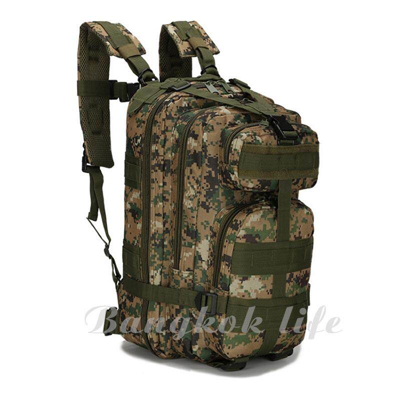 Jimmee กระเป๋าเป้ท่องป่า รุ่น The Forest 25l ลิตร Outdoor Backpack For Hiking & Camping.