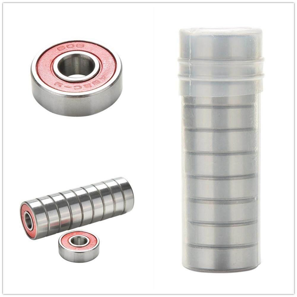 10PCS Chrome Steel Bearings for Roller Skate Scooter Skateboard Wheel
