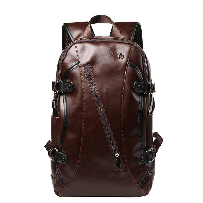 1c29970d53 Genuine Cow Leather Backpacks New youth backpack men and women travel  backpack student bag leisure bag