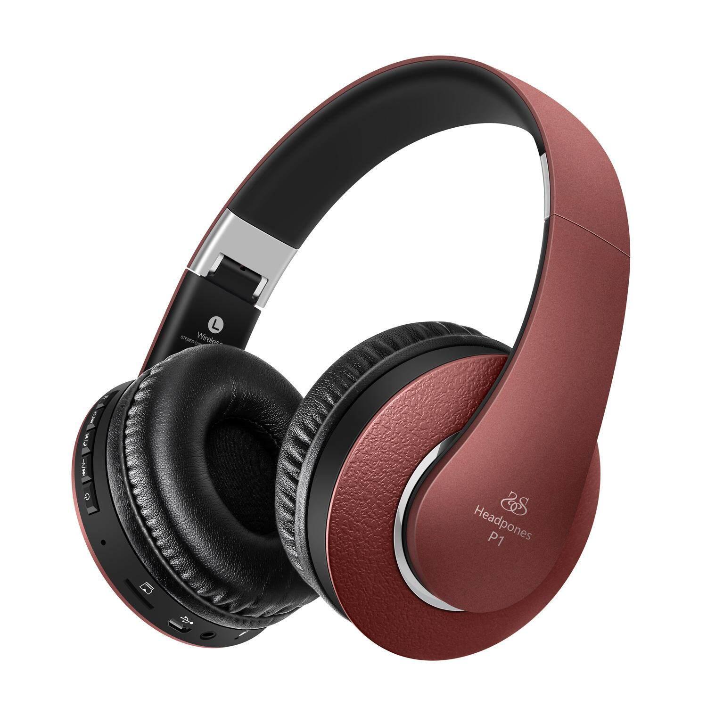 Picun Kemurnian P1 Headset Nirkabel Headset Bluetooth Headset Musik Subwoofer Komputer Kartu Kartu Merah