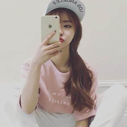 เสื้อยืดสไตล์เกาหลี UNIQUE