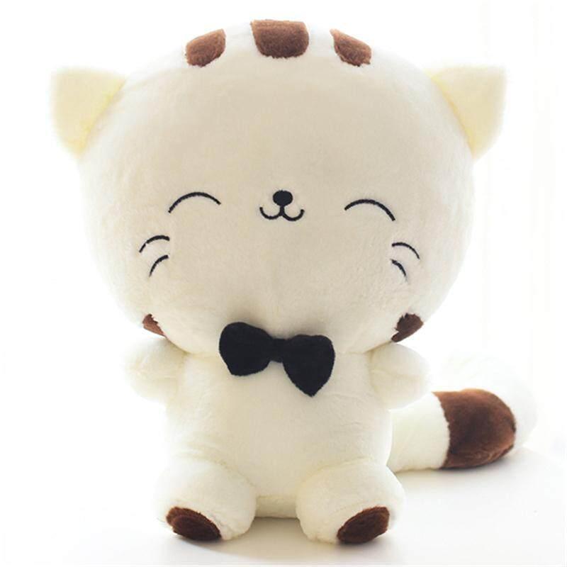 1 Pcs 18 Cm 28 Cm 40 Cm Senyum Kucing Muka Lebar Mewah Hiasan Bantal Mainan