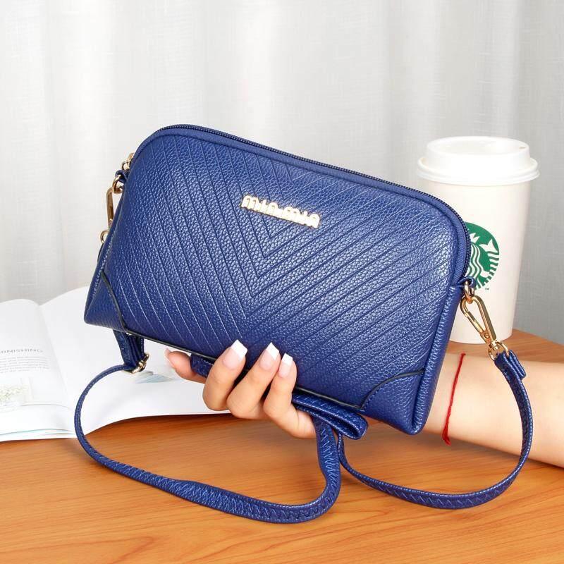 Musim panas wanita Tas tangan tas kulit kerang Ibu tas genggam model selempang tali bahu tunggal belanja tas kecil dwiguna HP Uang Kecil