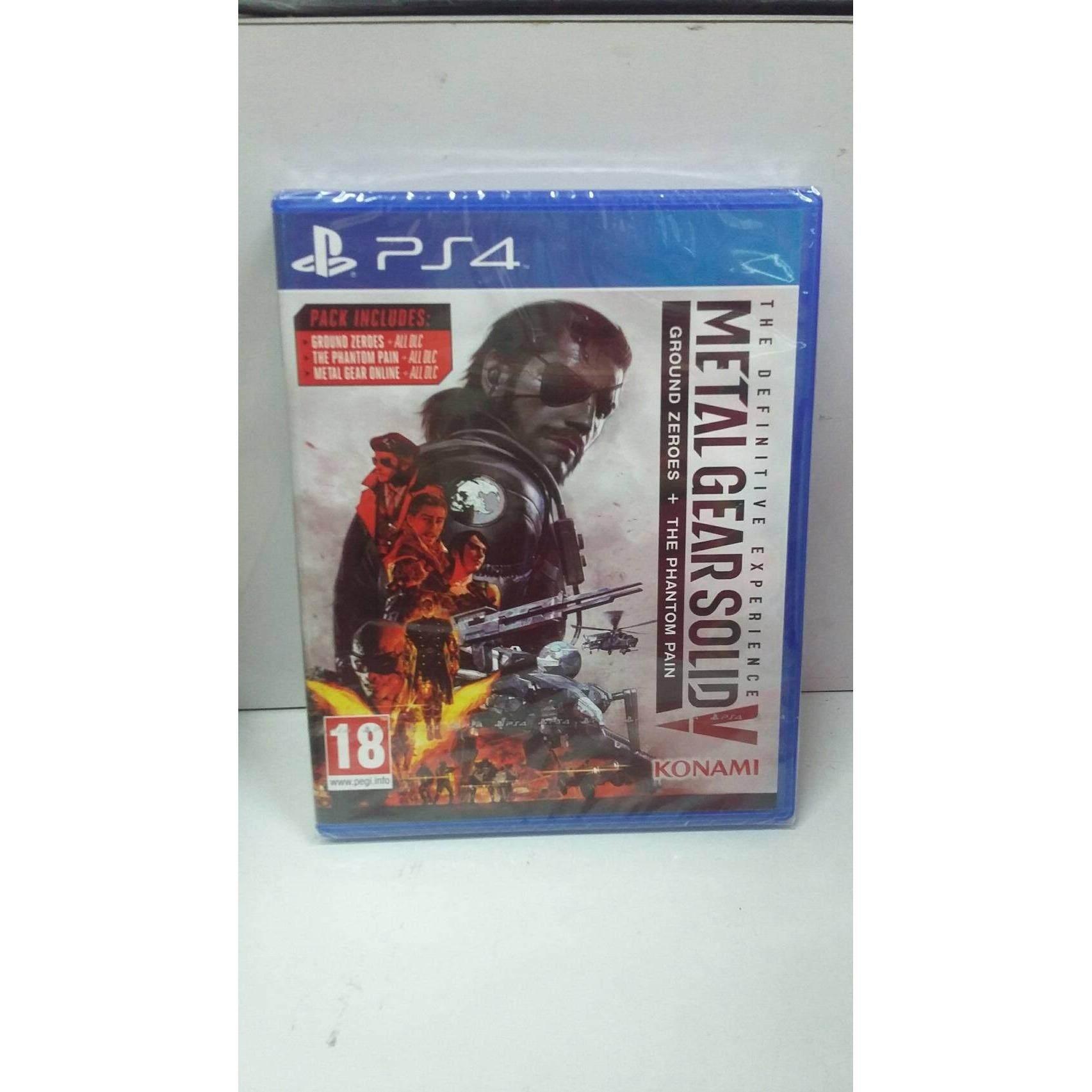 แผ่นเกมส์ PS4 GAME Metal Gear Solid V: The Definitive Experience (โซน2) ออนไลน์