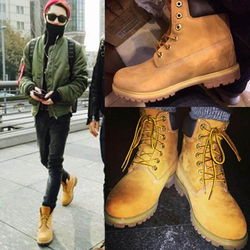 Ins Boots Martin wanita musim gugur dan dingin model baru sepatu bot pendek  Retro pasangan murid 909dc9d991