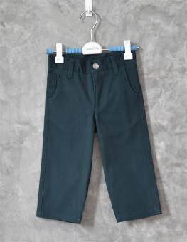 ลดกระหน่ำ 199 ทั้งร้าน!! กางเกงยีนส์เด็กขายาวเนื้อนิ่ม ผ้ายีนส์(สีเขียวเข้ม)**กรุณาอ่านรายละเอียดขนาดและดูการวัดขนาดได้จากภาพ**