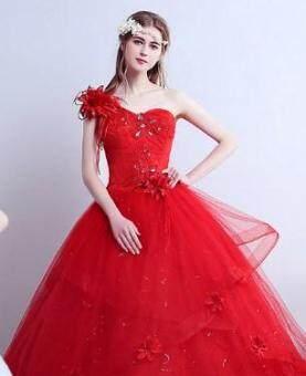Pencarian Termurah Gaun resepsi gaun pengantin pengantin wanita Model Korea upacara pernikahan ukuran besar Terlihat Langsing Gaun pengantin 2018 model baru ...