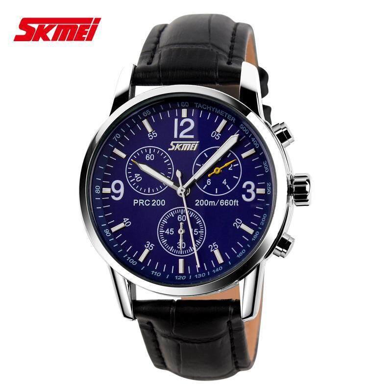 Skmei Trend of Fashion Business Casual Vintage Male Womens Waterproof Quartz Steel Timepiece Gel Watch Malaysia