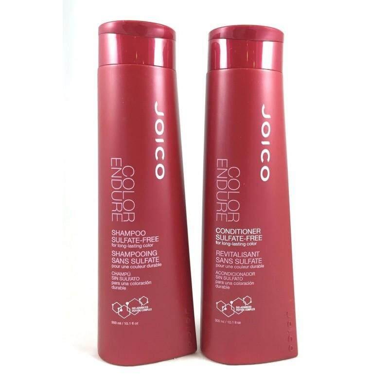 Joico Color Endure Shampoo And Conditioner  จอยโก้ คัลเลอร์ เอ็นดัวร์ สำหรับบำรุงผมทำสี Sulfate-Free (แชมพุ+ครีมนวด) (300 Ml.).