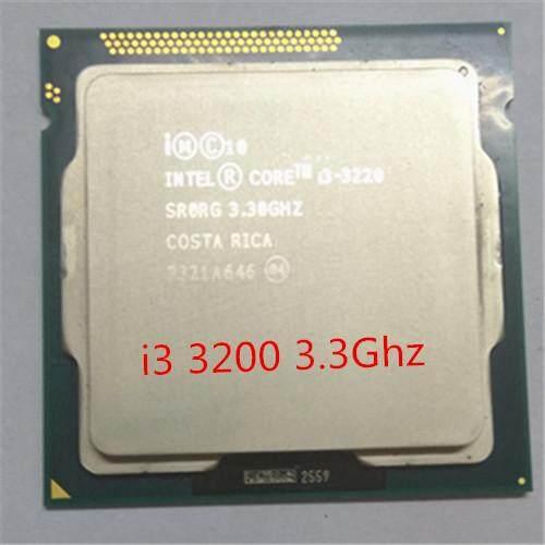 Intel Core I3 3220 CPU 3.4 GHz/Cache LGA 1155 DP Mulai dari 55 W Desktop Processor Dapat Menggunakan H61 B75 b85 Z77 H61 Chip memiliki I3 3240