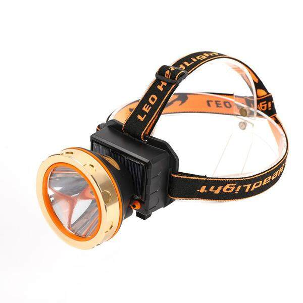 Big House Đèn Pha Ngoài Trời Gắn Trên Đầu Đèn Pha Sử Dụng Năng Lượng Mặt Trời Sạc USB 3 Mẫu Chiếu Sáng Cho Các Hoạt Động Ngoài Trời