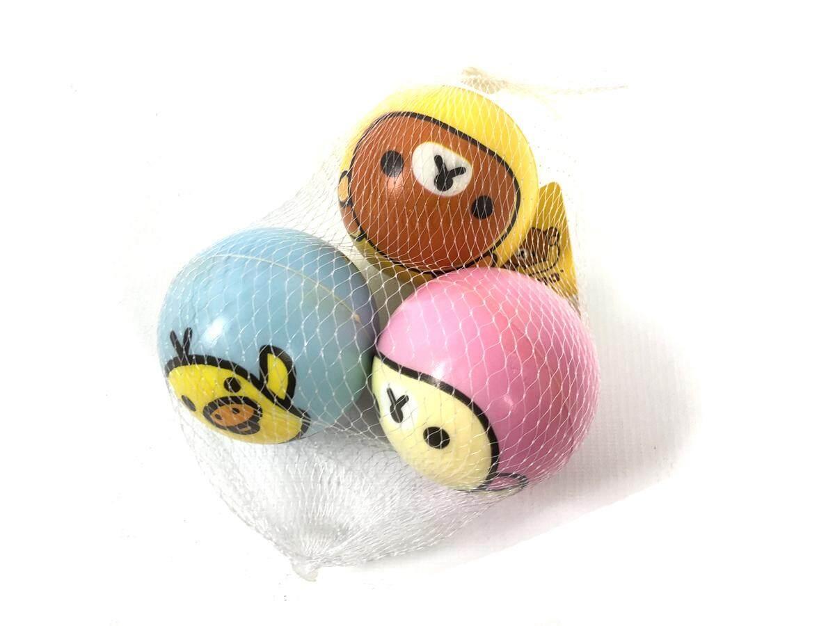 ริลัคคูมะ ของเล่น ลูกซอฟท์บอล 3 ลูก ริลัคคูมะ By K Toy Club.