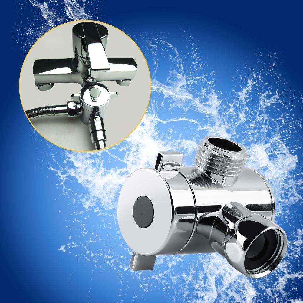 【ชื้อ 1 ชิ้น แถม 1 ชิ้น !!】multi-Function 3 Way หัวฝักบัว Diverter วาล์ว G1/2 Adapter วาล์วสำหรับห้องน้ำ Bidet- นานาชาติ.