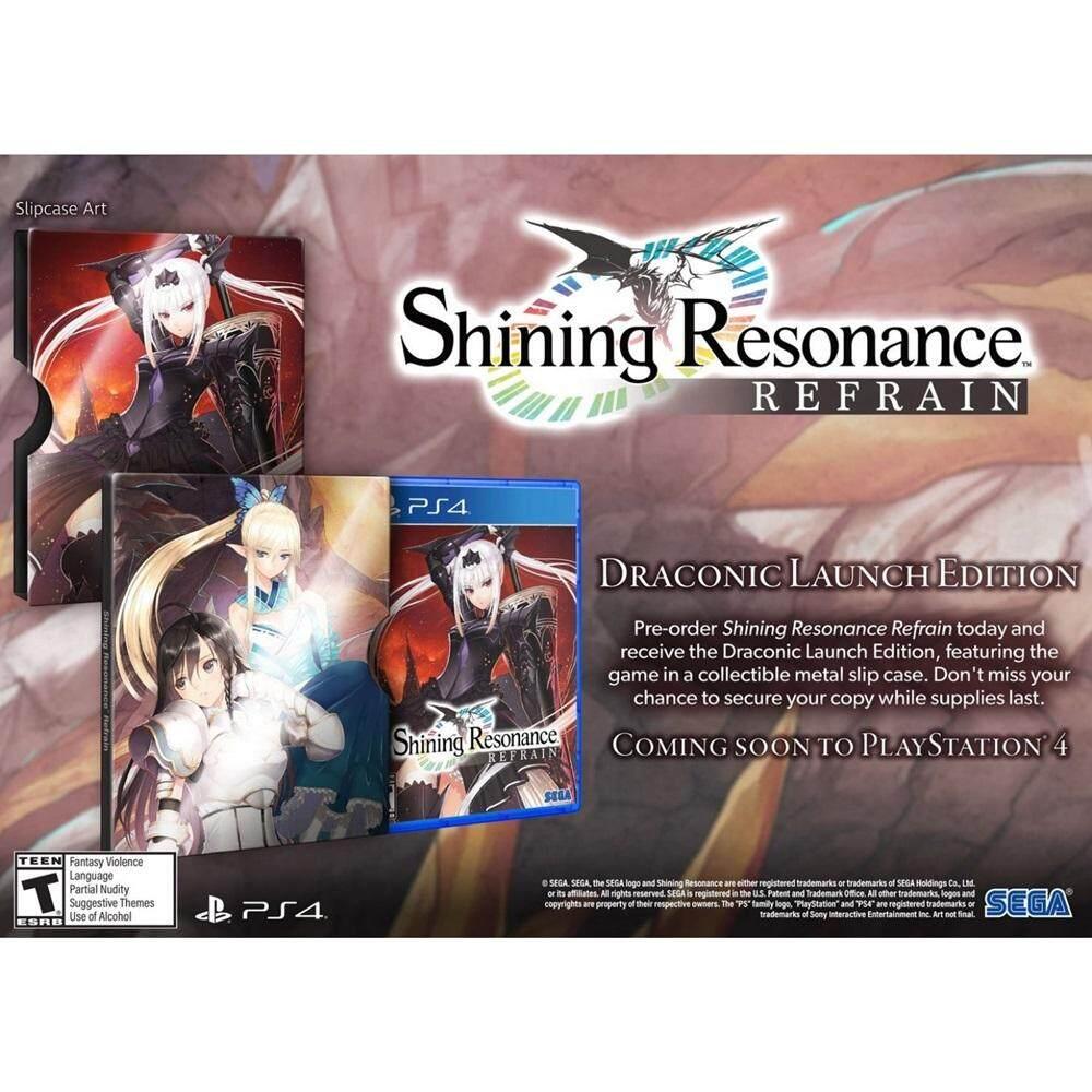 PS4 : Shining Resonance Re:frain [Draconic Launch Edition][US]