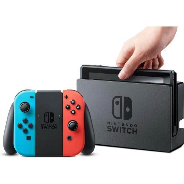 NINTENDO SWITCH (NEON RED/BLUE) (HONGKONG)