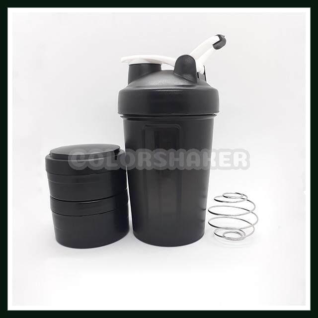 แก้วเชค ถ้วยเชค เชคเกอร์ ขนาด 450 Ml สำหรับผสมโปรตีน และชงอาหารเสริม พร้อมตลับแบ่ง รุ่น Blender Bottle Shaker พกพาสะดวก หนา แข็งแรงทนทาน หิ้วได้ ไม่แตกง่าย มี 5 สีให้เลือก ถ้วยเช็ค แก้วเช็ค เช็คเกอร์.