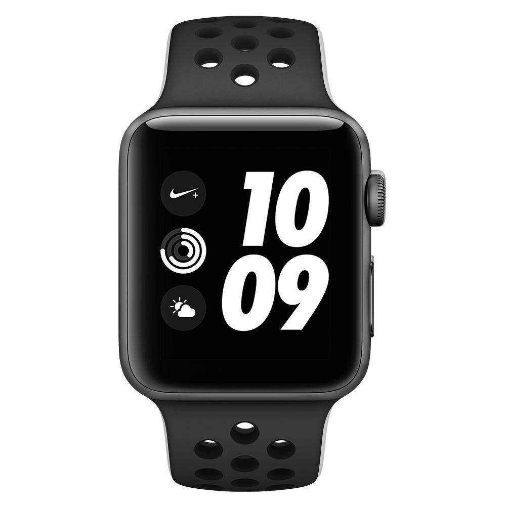 ขาย ซื้อ ออนไลน์ Apple Watch Nike Gps 42Mm Space Grey Aluminium Case With Anthracite Black Nike Sport Band