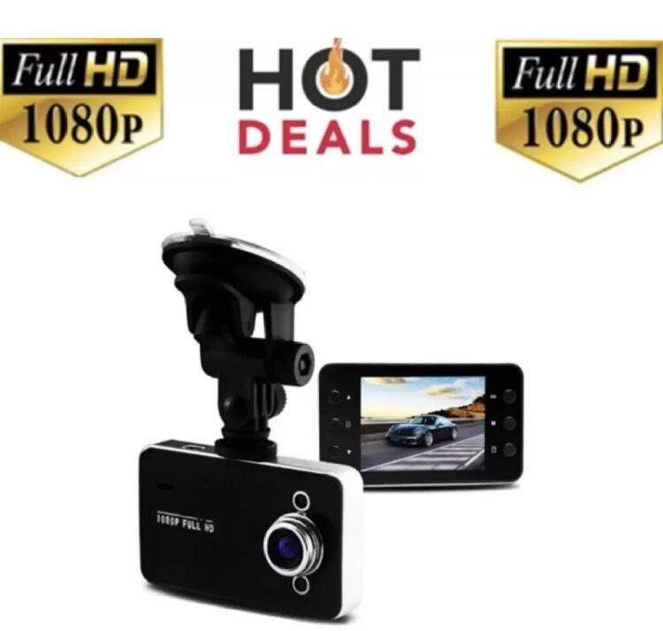 "tesia Car Camera กล้องติดรถยนต์ ในรถ K6000 Dvr Car DVR Night Vision Car Camera Recorder 2.7"" HD TFT Screen camrecorder"