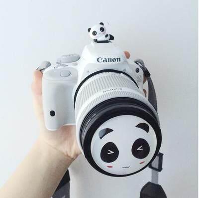 Canon Penutup Lensa Klip Sepatu Bot Panas 650d700d100d750d800d200d18-55/58 Mm Imut