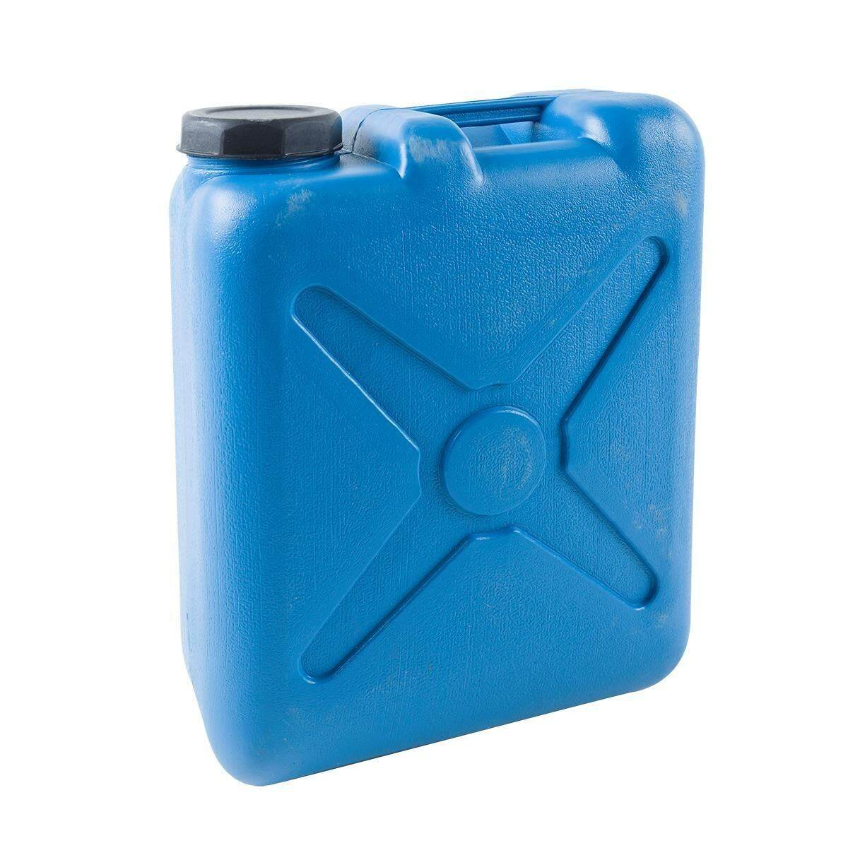 Bigbike_shop ถังแกลลอนพลาสติก  สีฟ้า.