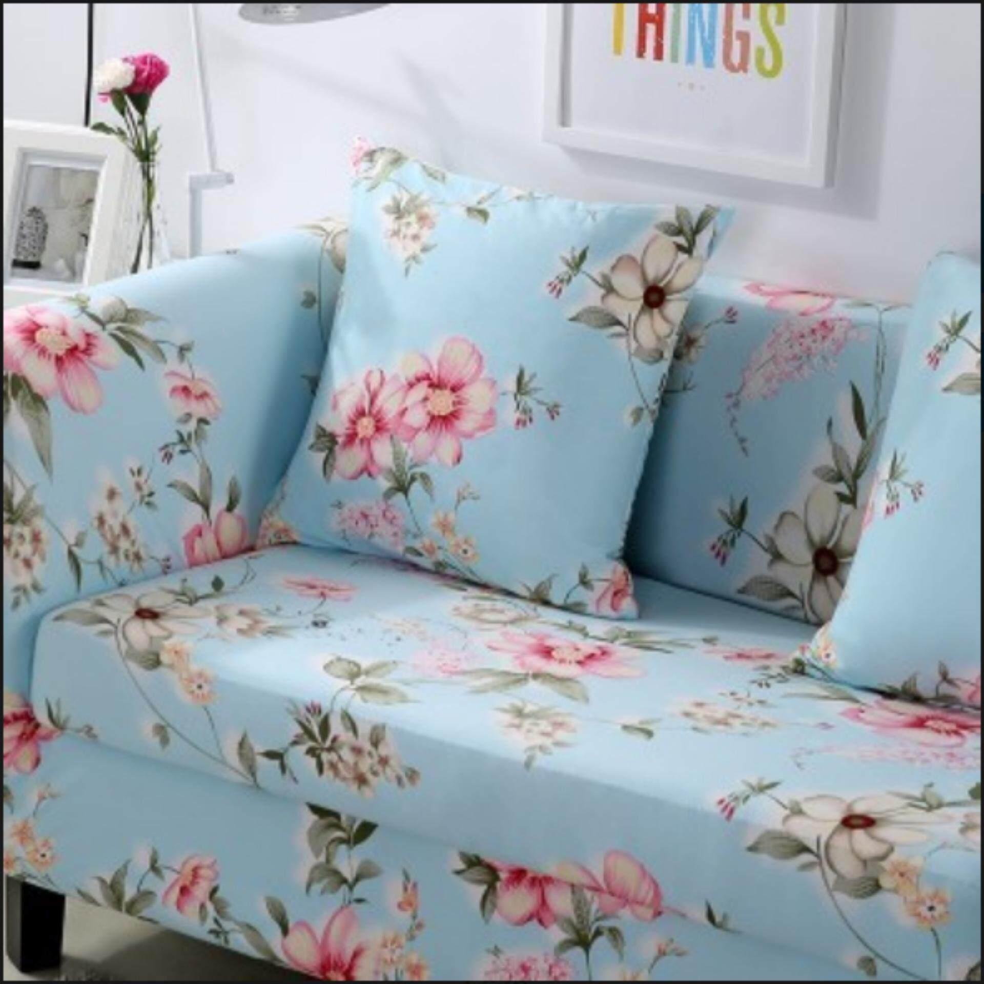 ซื้อ Nanarak ผ้าคลุมโซฟา M 145 185Cm Simple Four Seasons Solid Color Elastic Sofa Cover ฟรีผ้าคลุมหมอน ใหม่ล่าสุด