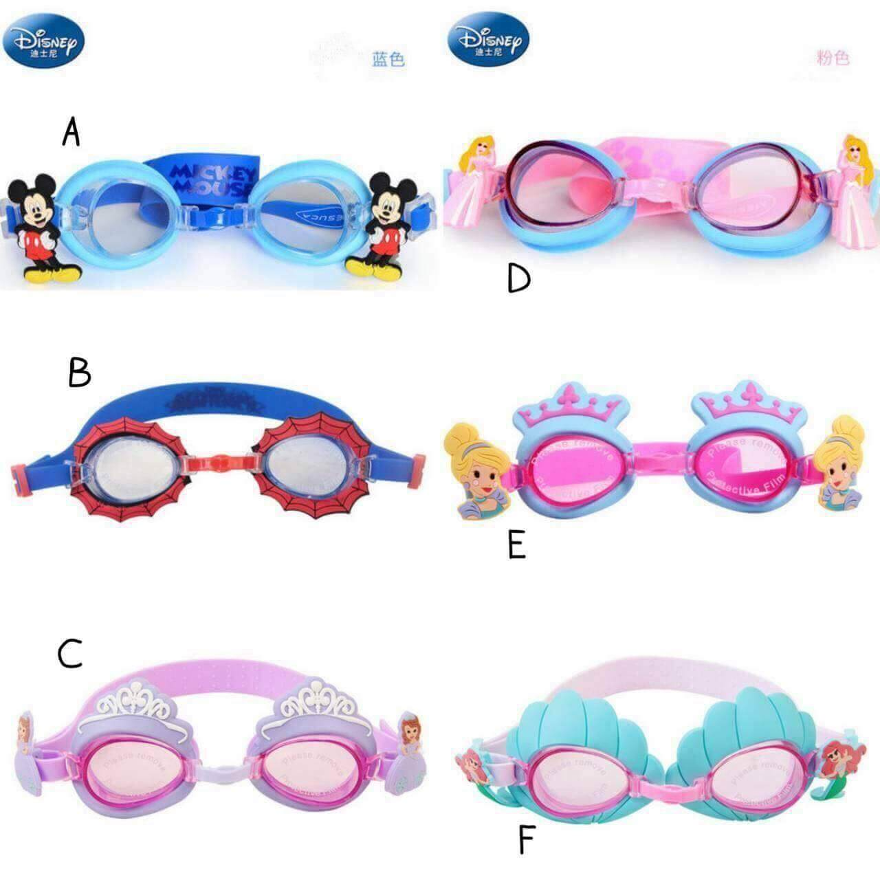 แว่นตาว่ายน้ำ แว่นตา (c).