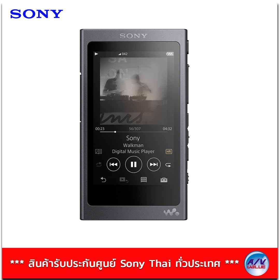 Sony Walkman Hi Res รุ่น NW-A45 - Black ***รับประกันศูนย์ Sony ทั่วประเทศ 1ปี