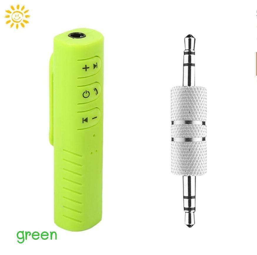 Huayi (หัวอี้) ตัวรับสัญญาณบูลทูธ บลูทูธในรถยนต์ เปลี่ยนลำโพงธรรมดาเป็นลำโพงบูลทูธ Car Bluetooth Aux 3.5mm Jack Bluetooth Receiver Handsfree Call Bluetooth Adapter Car Transmitter Auto Music Receivers.
