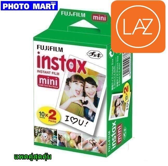 ฟิล์มโพลารอยด์ Fuji Film Instax Mini(แพคคู่).