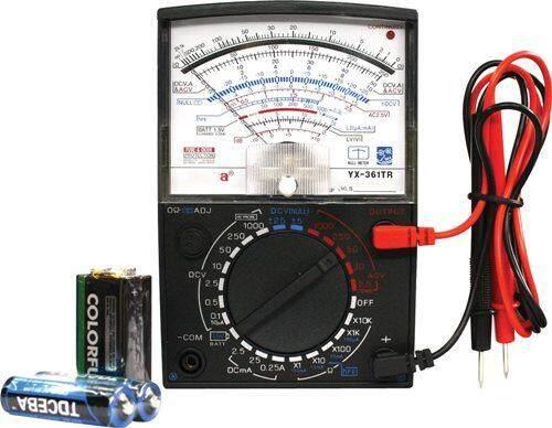 มิเตอร์วัดไฟ Sunma แบบเข็ม รุ่น Multimeter Yx-360tr (ของแท้).