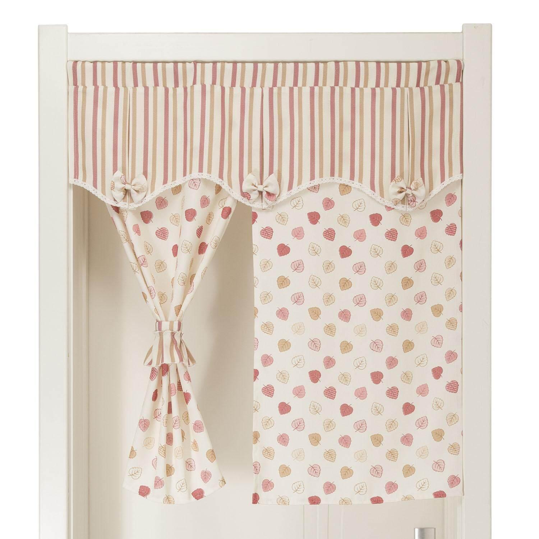 Fabric bathroom bedroom kitchen half-curtain door curtain