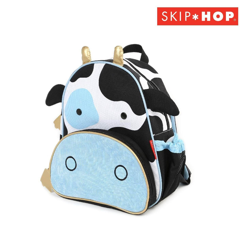 Skip hop กระเป๋าสะพายเด็ก  Zoo Pack Cow Style