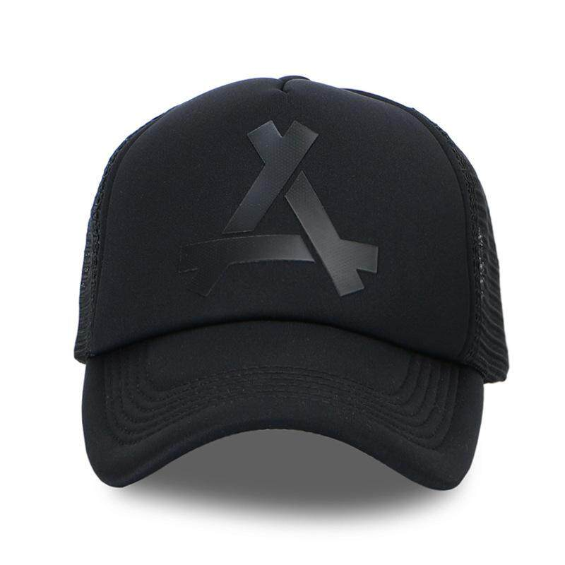 7aa3086e8ed Triangle Design Men Women Hats Baseball Mesh Cap Snapback Breathable Dad Hat  Polo Hats Trucker cap