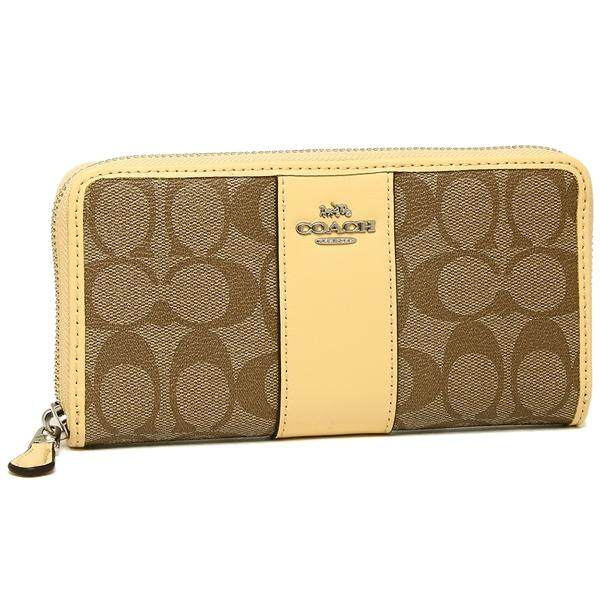 NWT COACH F 54630 Signature PVC Leather Accordion Wallet