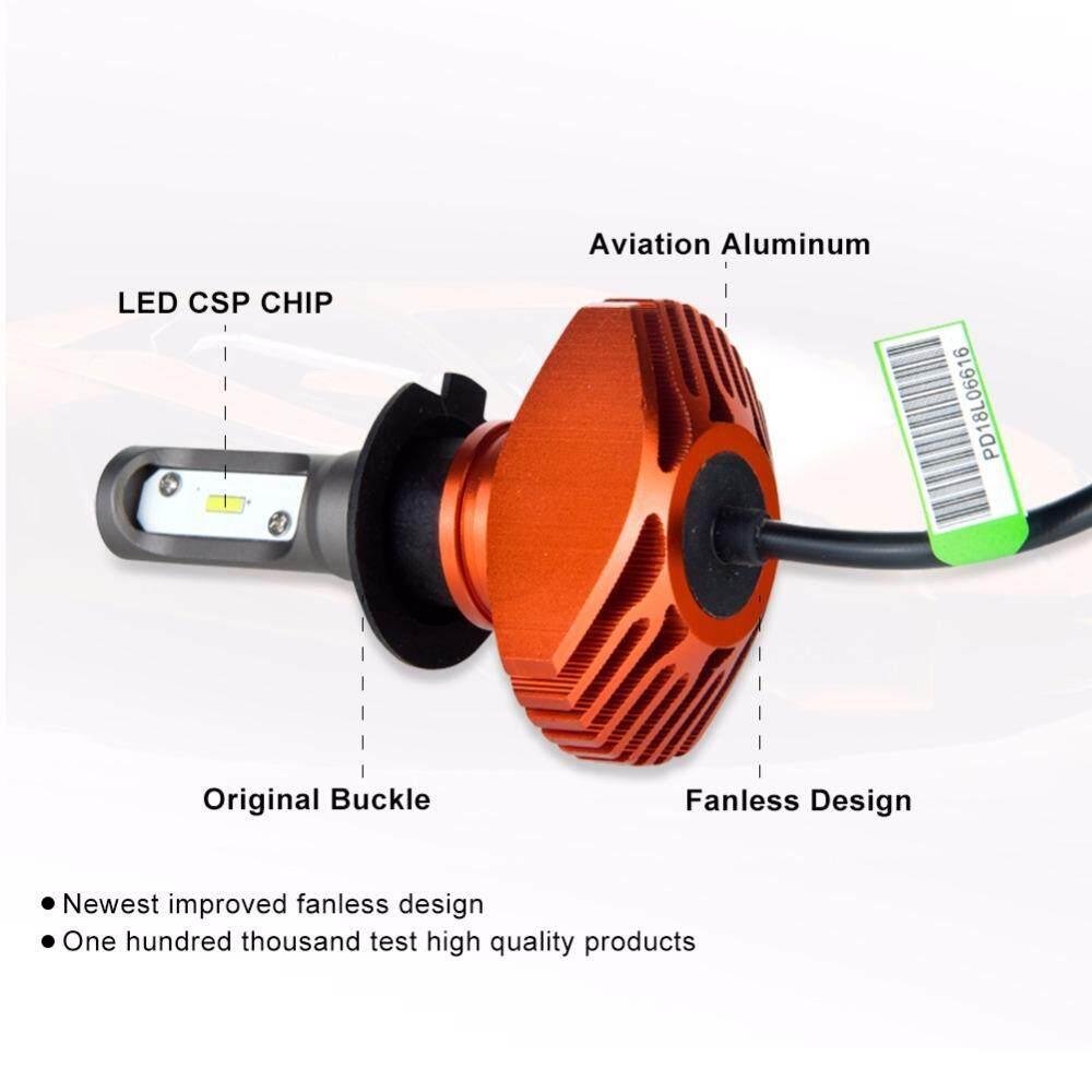 ... Ammtoo H4 H7 LED H11 H1 LED Lampu Depan Mobil 9005 HB3 9006 HB4 Lampu Kabut