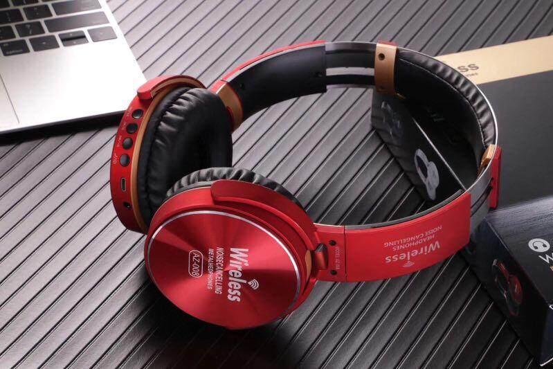 Bluetooth Earphoneหูฟังบูลทูธ หูฟังไร้สาย รุ่น Az-008 หูฟังคุณภาพดี ออฟชั่นครบ.