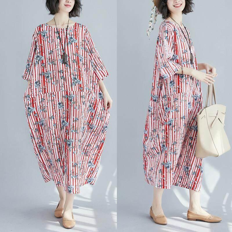 230 pon ukuran besar baju wanita pakaian musim panas penutup mm mm gaun Menutupi Terlihat Langsing