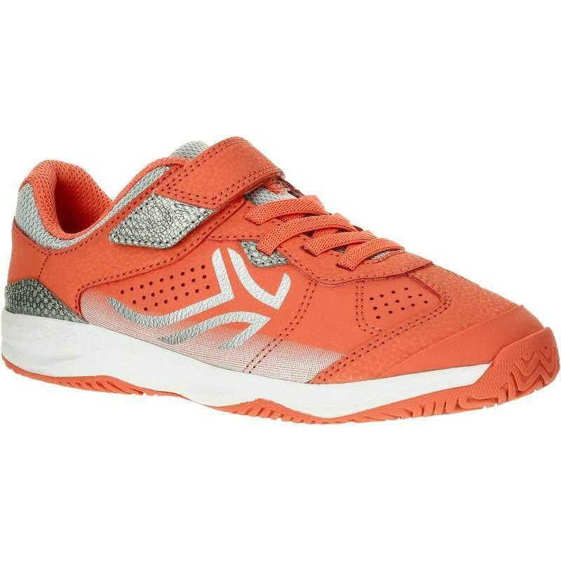 รองเท้าเทนนิสสำหรับเด็กรุ่น Ts160 (สีส้ม Coral).