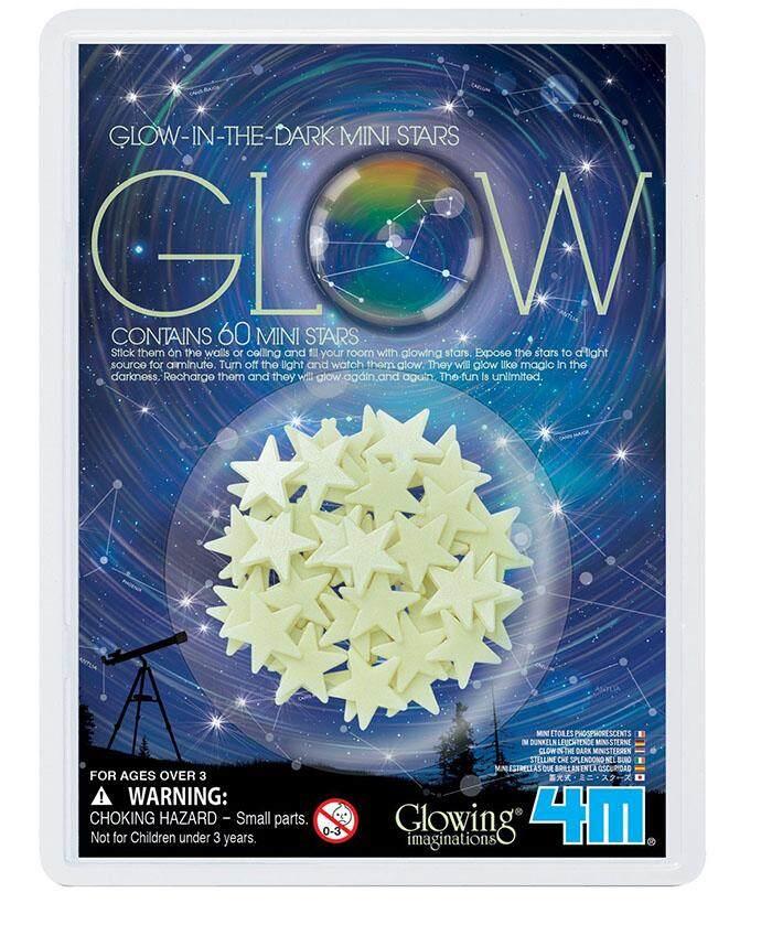 ของเล่น 4M Glow In The Dark Mini Stars 60 Pcs
